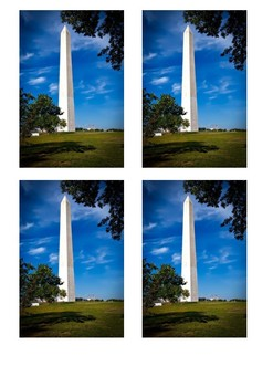 The Washington Monument Handout with activities
