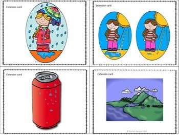 The Water Cycle - Song, Activities, and Worksheets - Grades 1 and 2