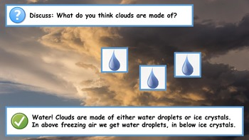 The Water Cycle Powerpoint (5th & Up)