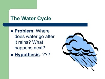 The Water Cycle- A Laboratory Experience Lesson Plan AND P