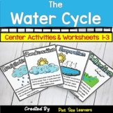 Water Cycle Activities & Worksheets | Water Cycle Vocabula