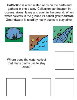 The Water Cycle Adapted Book
