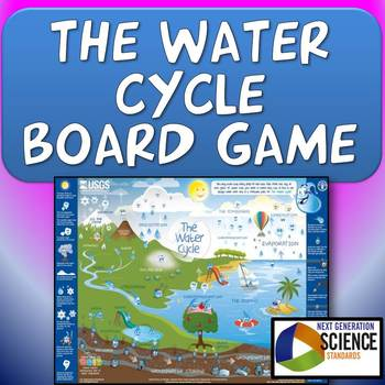 NGSS/Common Core Water Cycle Board Game