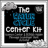 Water Cycle Center Kit and Scavenger Hunt