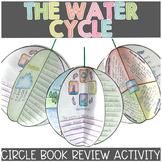 Water Cycle Activities | Circle Book Printable and Digital