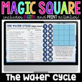 The Water Cycle Digital Magic Square | Science Magic Squares