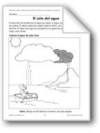The Water Cycle/El ciclo del agua