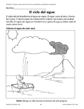 The Water Cycle/El ciclo del agua
