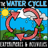 The Water Cycle - Experiments, Read and Color, Assessment