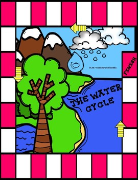 The Water Cycle File Folder Game