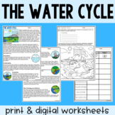The Water Cycle - Guided Reading + Worksheets - Google & P