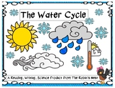 The Water Cycle:  Informational Reading, Comprehension Questions, & Activities!