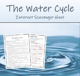 The Water Cycle (Internet Scavenger Hunt)