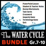 The Water Cycle - LESSON BUNDLE {Editable}