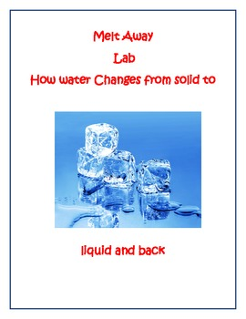 The Water Cycle Lab 1 Melti... by Constance DiCandia   Teachers ...