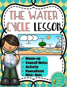 The Water Cycle Lesson- Meteorology and Atmosphere Unit