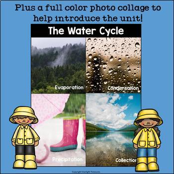 The Water Cycle Mini Book for Early Readers