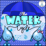 The Water Cycle - Mini book + Activities