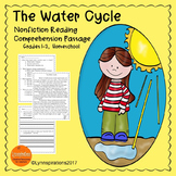 The Water Cycle Reading Comprehension