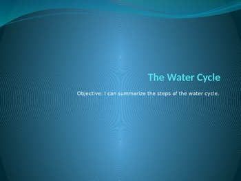 The Water Cycle PowerPoint
