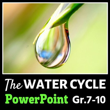 The Water Cycle - PowerPoin... by Tangstar Science | Teachers Pay ...