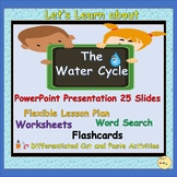 Water Cycle - PowerPoint Presentation, Lesson Plan, Worksheets, Flashcards