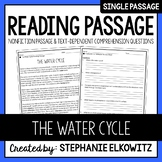 The Water Cycle Reading Passage