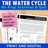 The Water Cycle | Role of Sun and Ocean | Comprehension Un