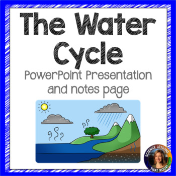 The Water Cycle SMART notebook presentation