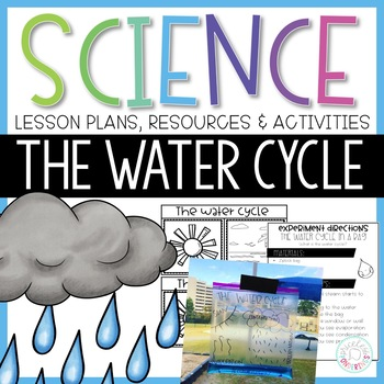 The Water Cycle Activities and Interactive Notebook