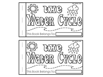 The Water Cycle NonFiction Science Reader (Booklet) Fluent & Emergent Readers