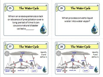 Template for task cards doc 28 images task cards template unique template for task cards doc by the water cycle task cards with editable template by ccuart Images