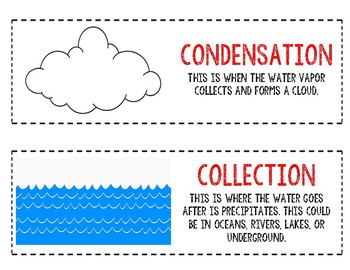 The Water Cycle Vocab Terms