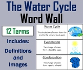 The Water Cycle Word Wall Cards