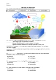 The Water Cycle - Worksheet | Distance Learning