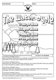 Water Cycle Reading Activity Pack