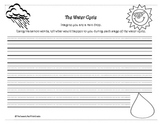 The Water Cycle Writing