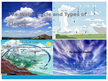 The Water Cycle and Types of Clouds
