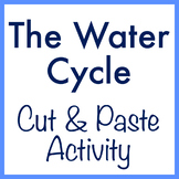 The Water Cycle cut & paste activity