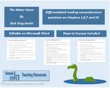 The Water Horse Reading Comprehension