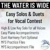 The Water Is Wide - Easy Solos & Duets for Vocal Contest (