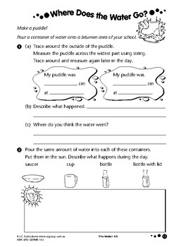 The Water Kit – Ages 6-8