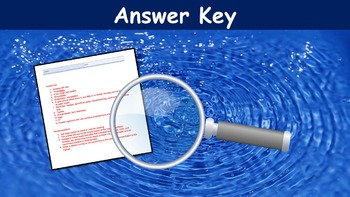 The Water Supply Lesson with Power Point, Worksheet, and Review Sheet