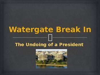 US Presidents - The Watergate Break In