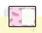The Watermelon Fiesta Digital Planner