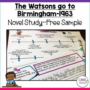 The Watsons Go To Birmingham-1963 FREE Sample