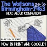 The Watsons Go To Birmingham 1963 Read Aloud Companion