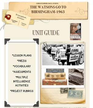 The Watsons Go To Birmingham-1963 Unit Guide