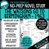 The Watsons Go To Birmingham 1963 Novel Study