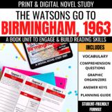 The Watsons Go to Birmingham - 1963 Novel Study Unit